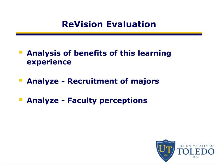 ReVision Evaluation