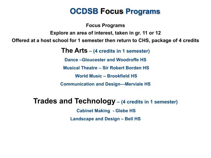 OCDSB