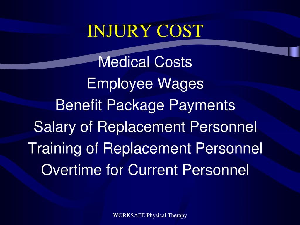 INJURY COST