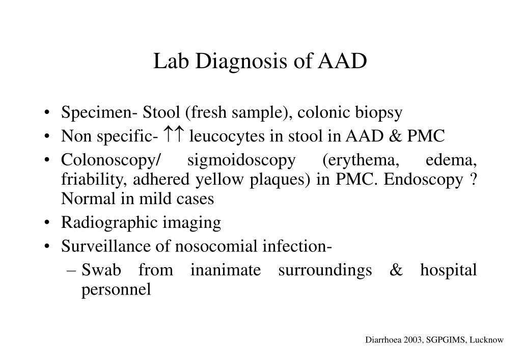 Lab Diagnosis of AAD