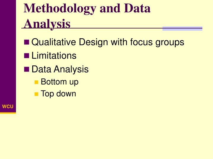 Methodology and Data Analysis