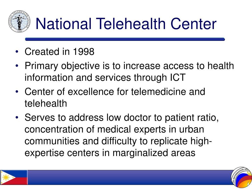 National Telehealth Center