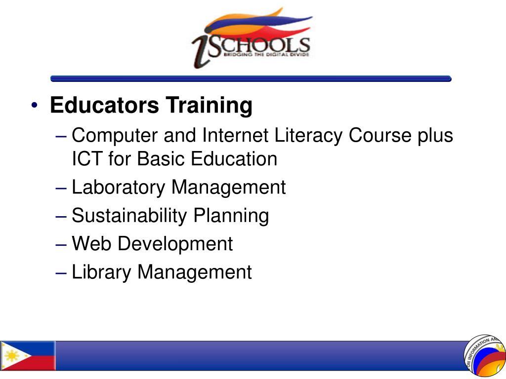 Educators Training