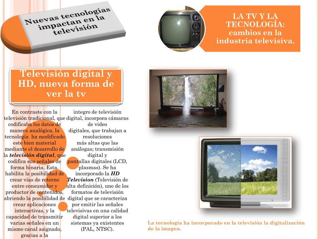 Televisión digital y HD, nueva forma de ver la tv