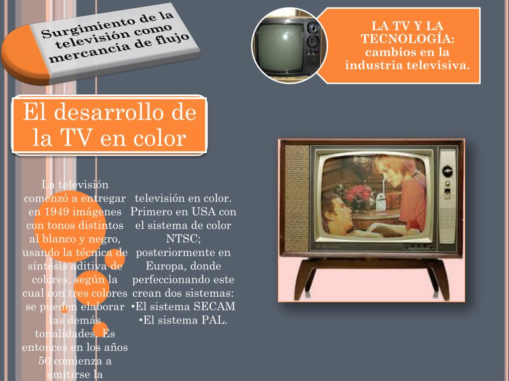 El desarrollo de la TV en color