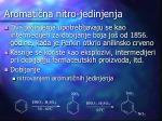 aromati na nitro jedinjenja