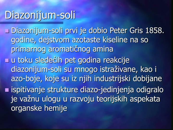 Diazonijum-soli