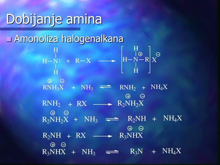 Dobijanje amina