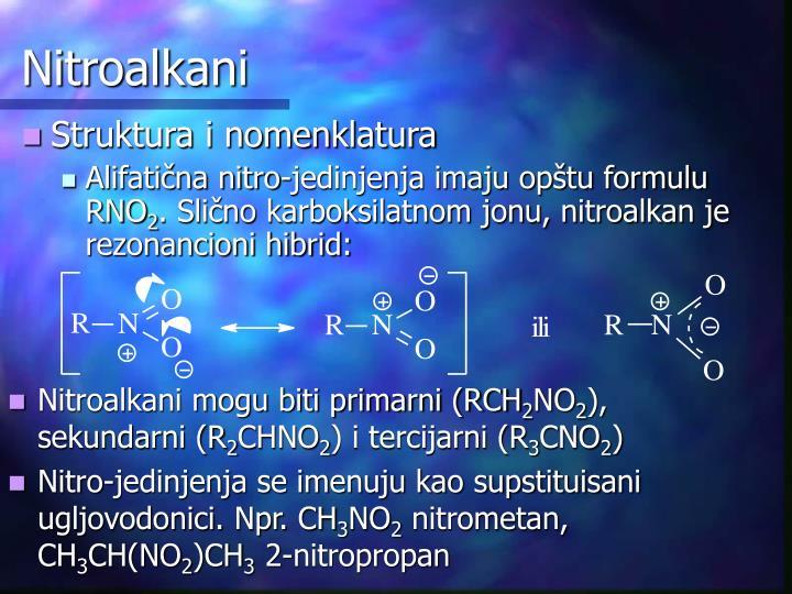 Nitroalkani
