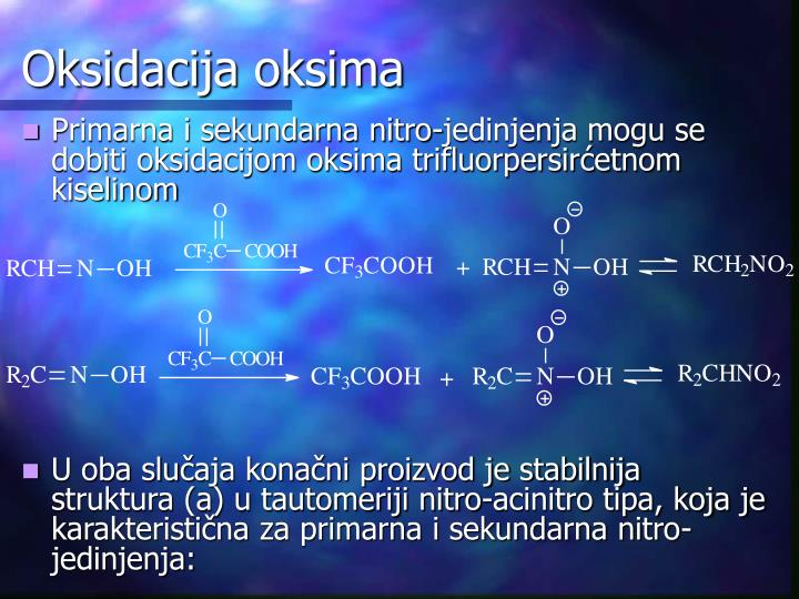 Oksidacija oksima
