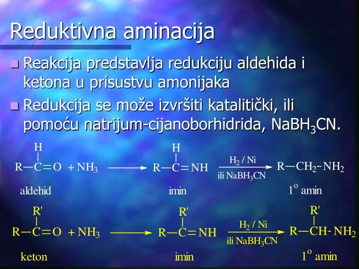 Reduktivna aminacija