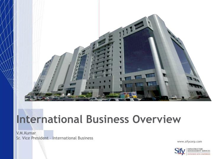 International Business Overview