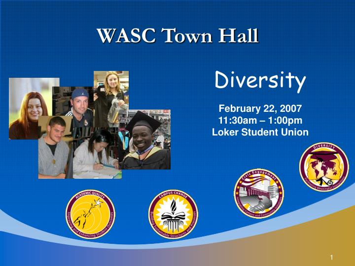 WASC Town Hall