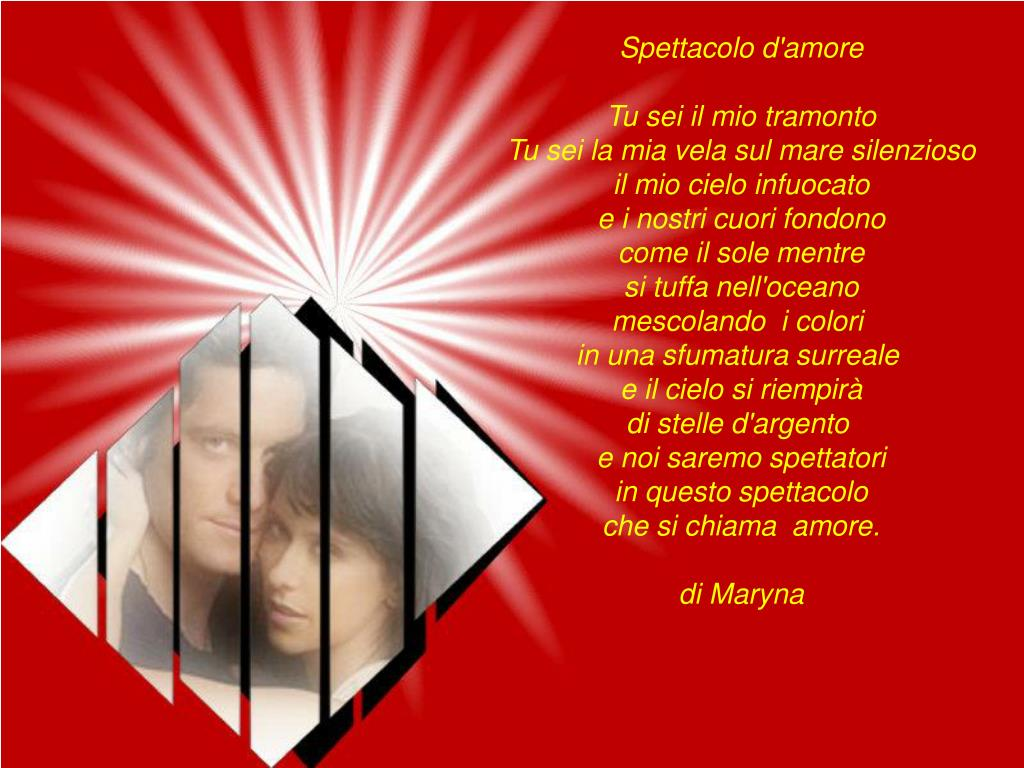 Spettacolo d'amore
