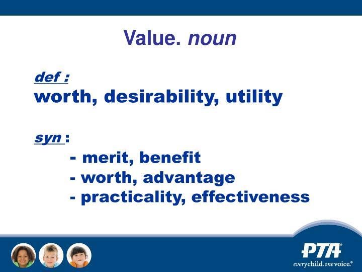 Value.