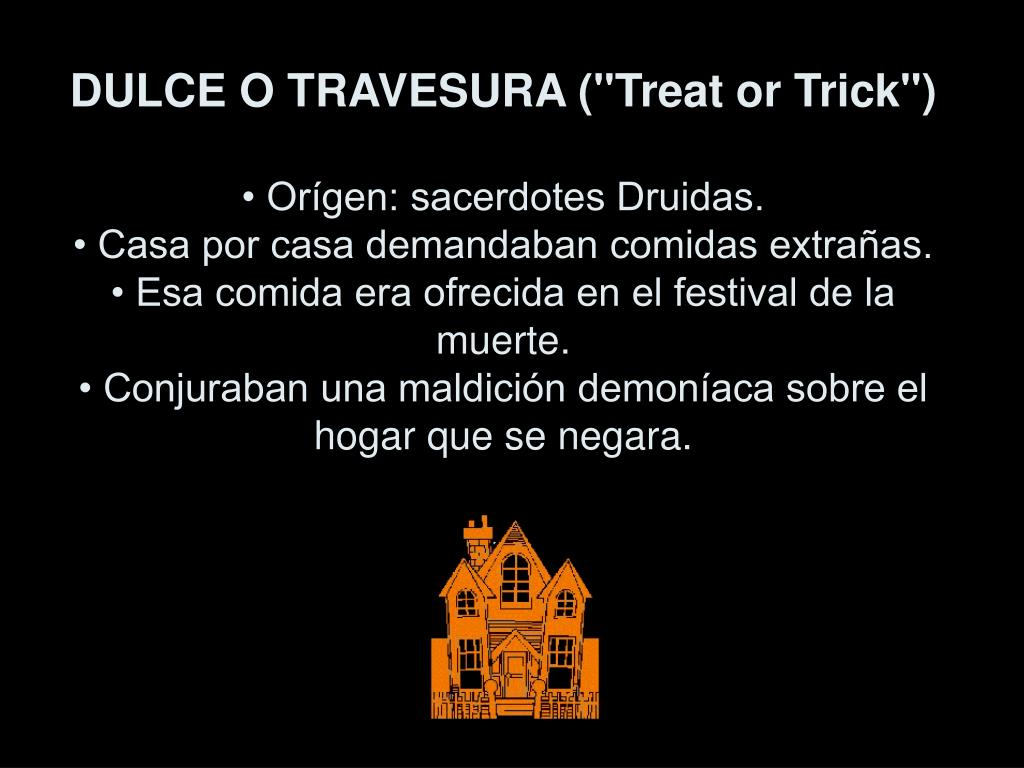 "DULCE O TRAVESURA (""Treat or Trick"")"