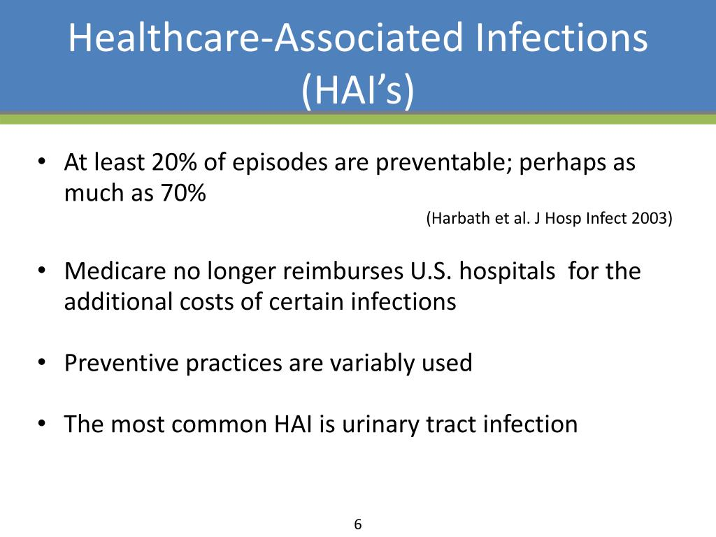 healthcare associated infections hais essay Clinical governance is important for providing safe care to patients and is essential to continuous improvement in patient safety(vicgov) one of the key components in relation to this safety and quality issue in health care is preventing and controlling healthcare associated infections(hai) which.