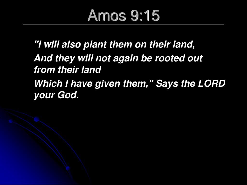 Amos 9:15