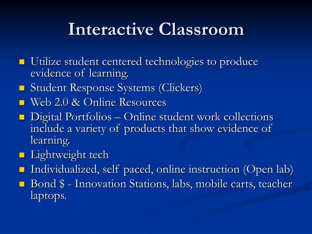 Interactive Classroom