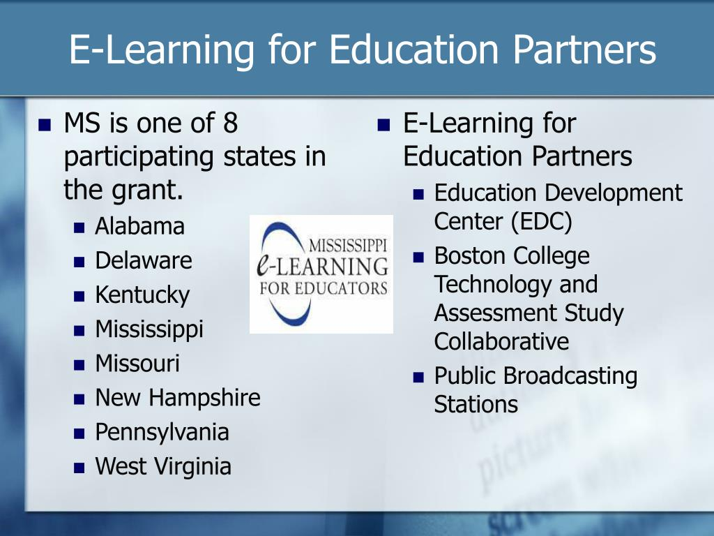 MS is one of 8 participating states in the grant.