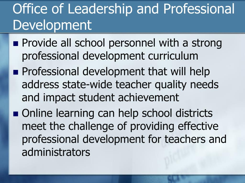 Office of Leadership and Professional Development