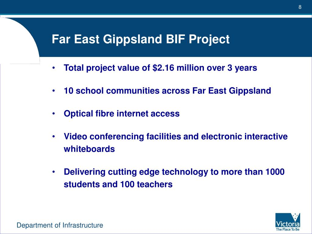 Far East Gippsland BIF Project