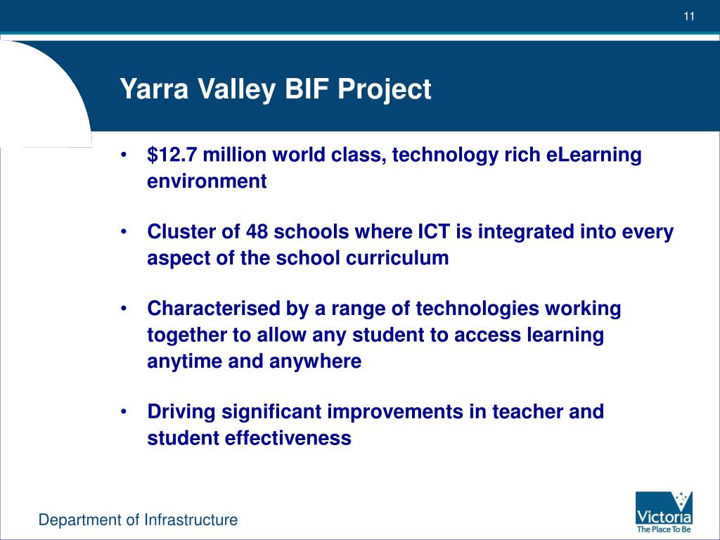 Yarra Valley BIF Project