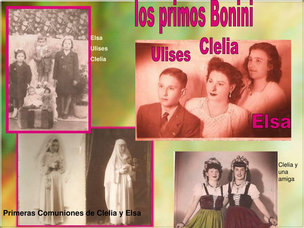 los primos Bonini