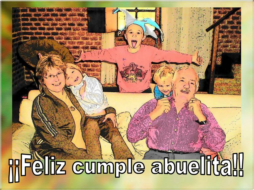 ¡¡Feliz cumple abuelita!!