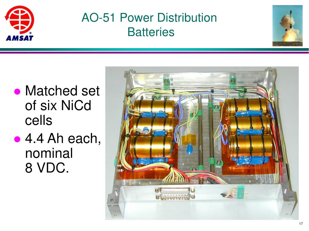AO-51 Power Distribution