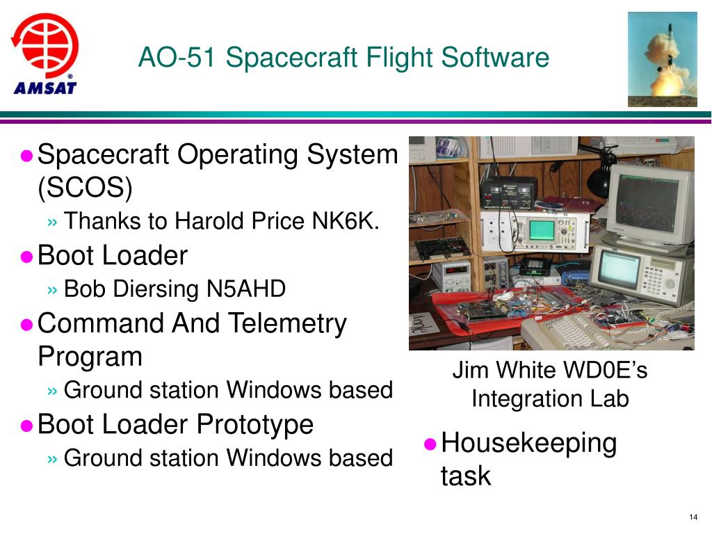 AO-51 Spacecraft Flight Software