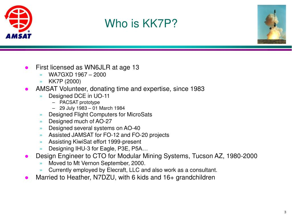 Who is KK7P?
