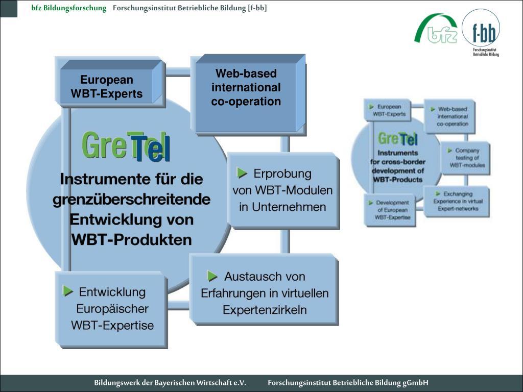 Web-based international co-operation