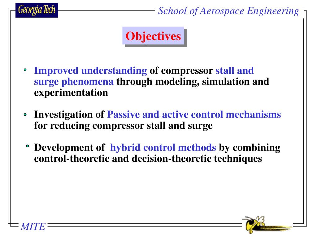 School of Aerospace Engineering