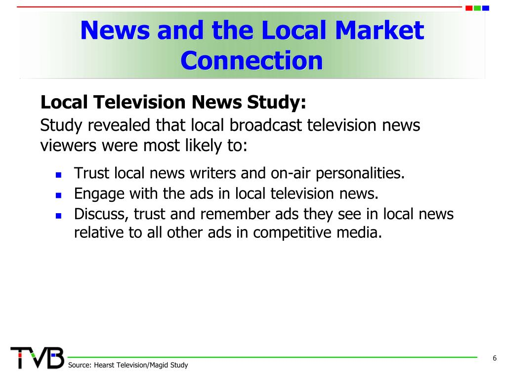 News and the Local Market Connection