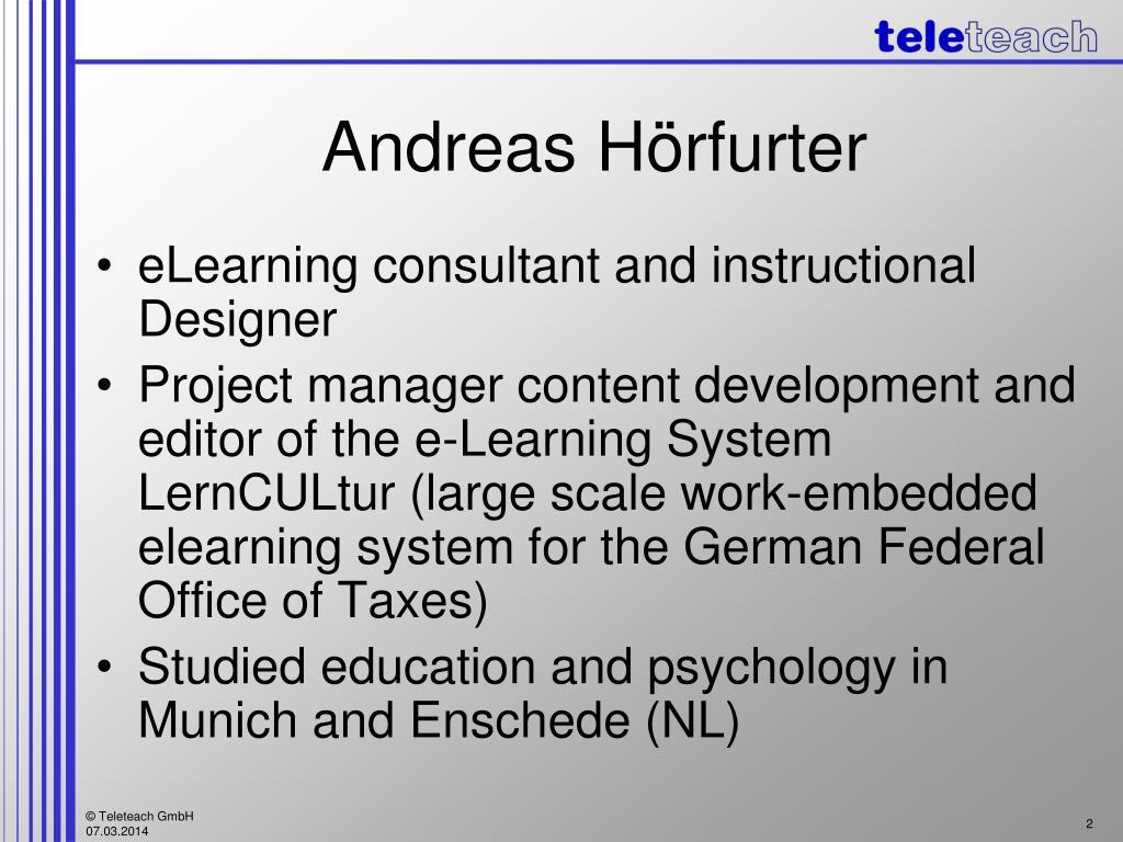Andreas Hörfurter