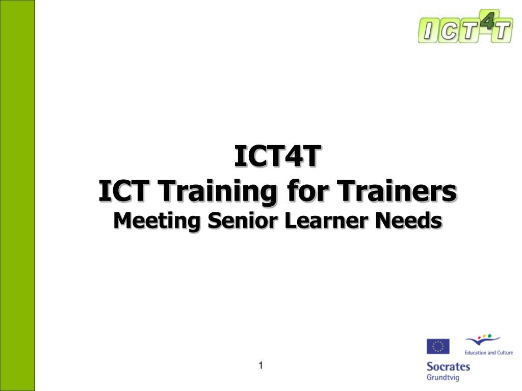 ICT4T