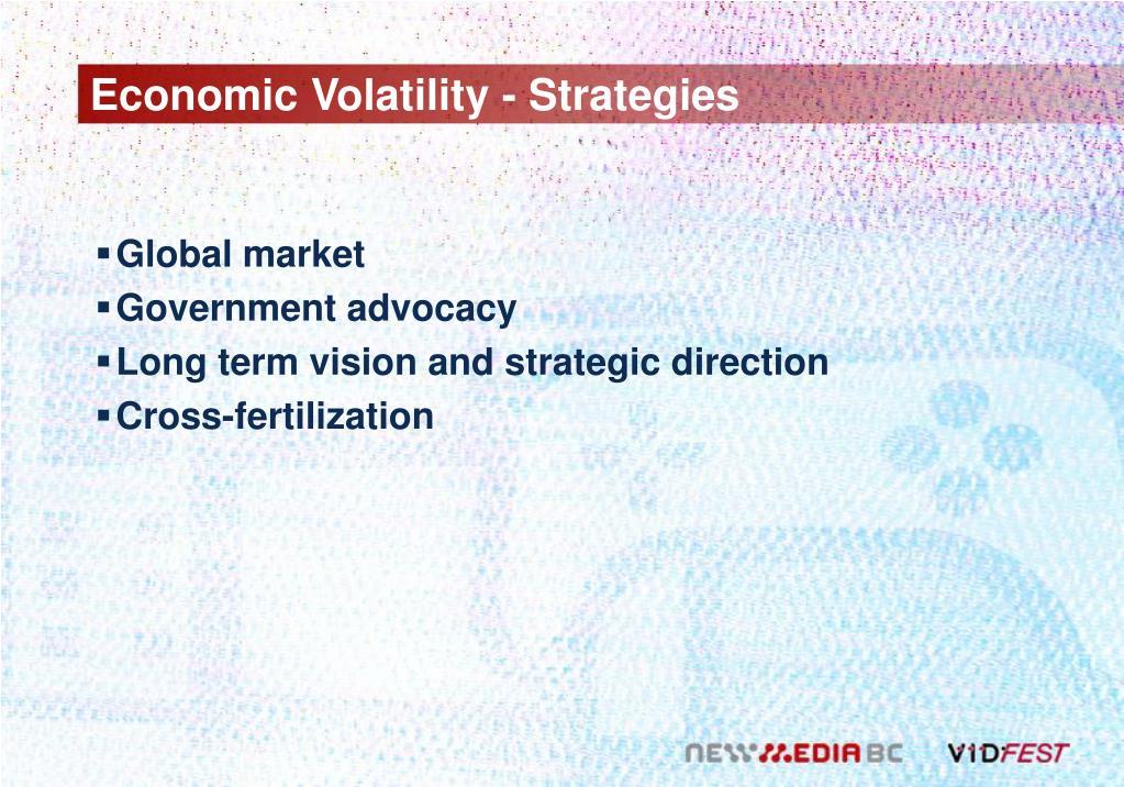 Economic Volatility - Strategies