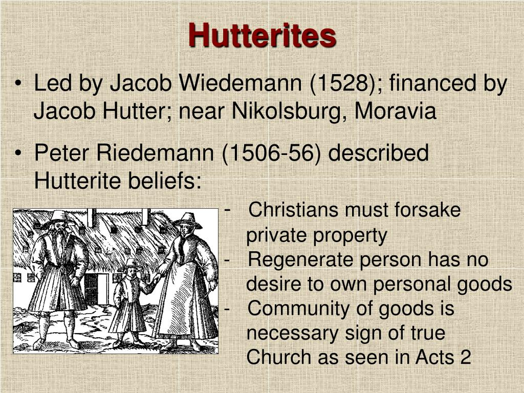 the persecution of the innocent hutterite people Victims of the holocaust & nazi persecution euthanasia program  of germany during the holocaust,  techniques to convince not only the german people, .