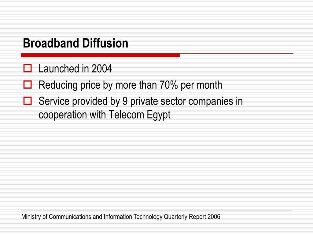 Broadband Diffusion