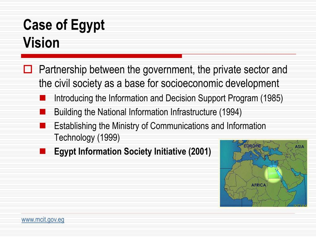Case of Egypt