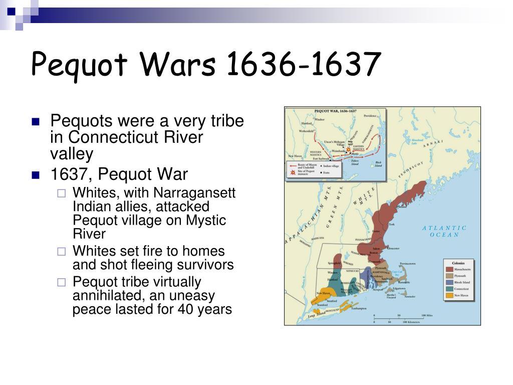 Pequot Wars 1636-1637