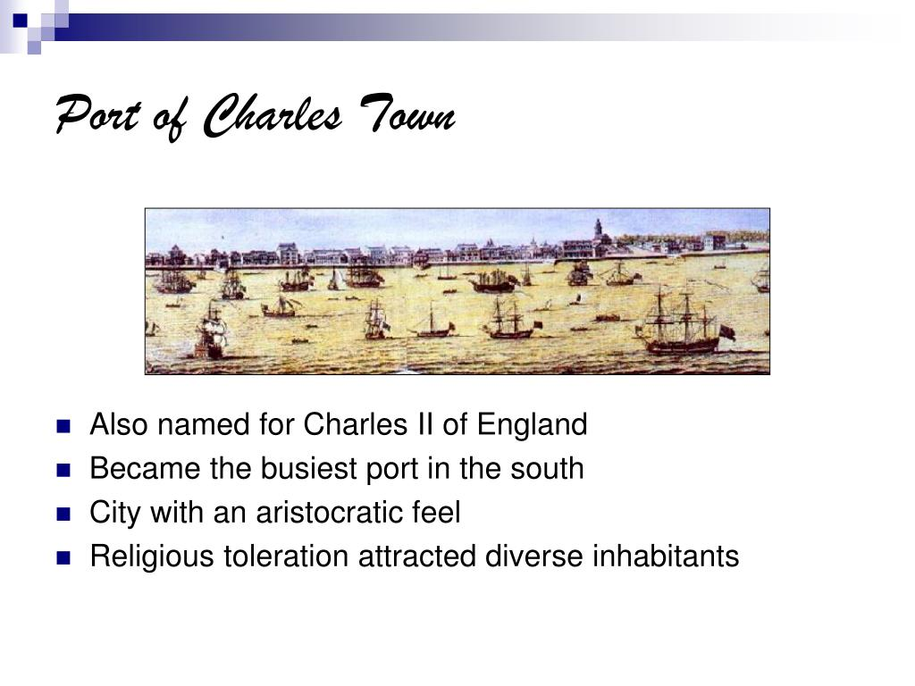 Port of Charles Town