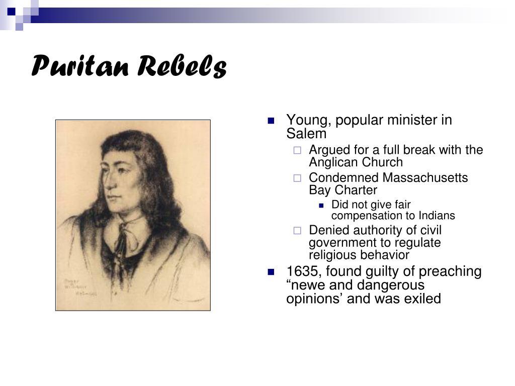 Puritan Rebels