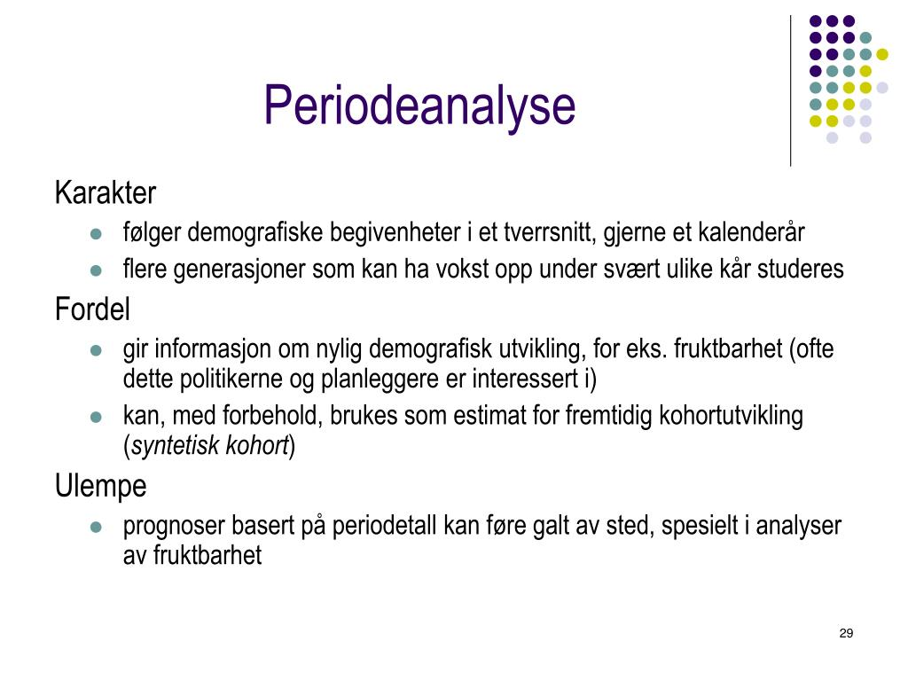 Periodeanalyse