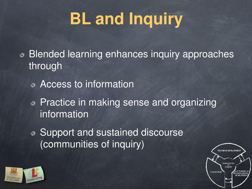 BL and Inquiry
