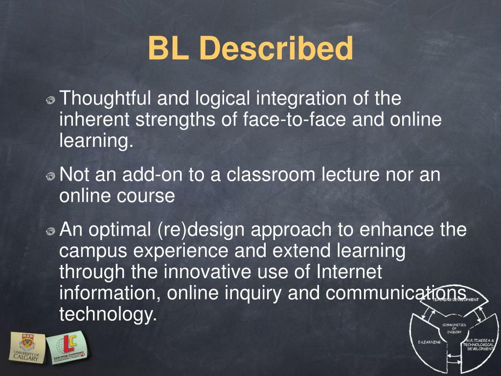 BL Described