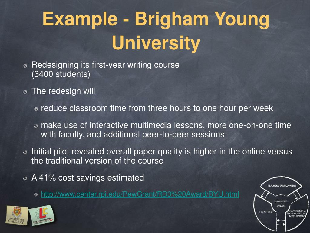 Example - Brigham Young University
