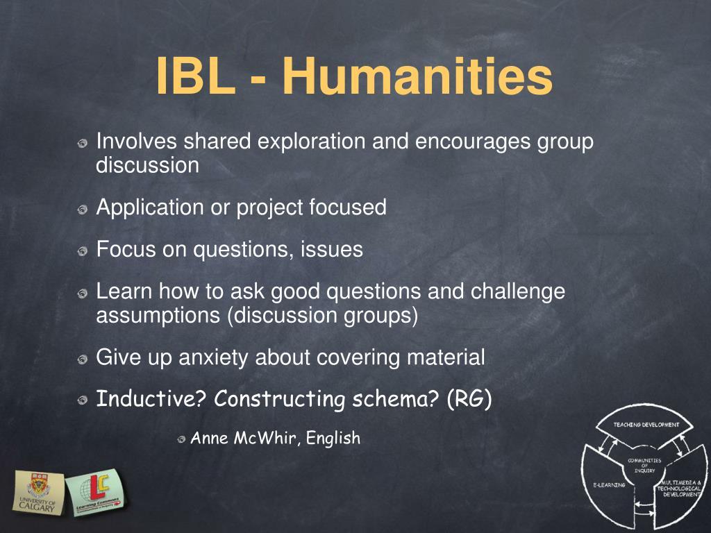 IBL - Humanities