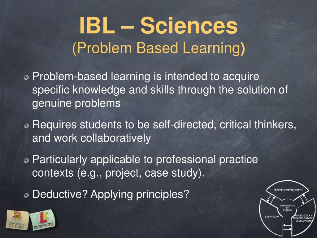 IBL – Sciences